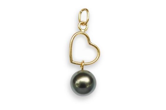 """""""Heremanu"""" Tahitian pearl Pendant"""
