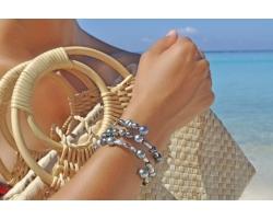 """Bracelet perles de Tahiti """"Mix"""""""
