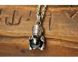 Pendentif perle de tahiti pour homme