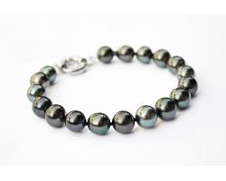 "Bracelet perles de Tahiti ""IBIS"""