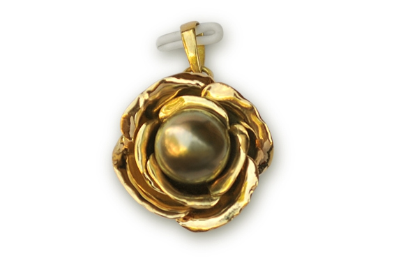 """Rose"" Gold Pendant"