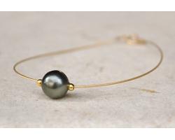 "Bracelet perle de Tahiti ""Papeete """