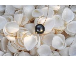 "Collier perle de Tahiti ""Papeete"""