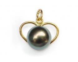 """Pendentif perle de Tahiti """"Heremoana"""""""