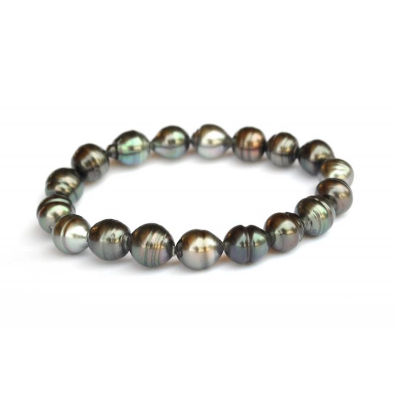 bracelet perle elastique