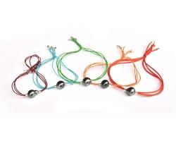 """""""Elastica"""" Tahitian pearl bracelet"""
