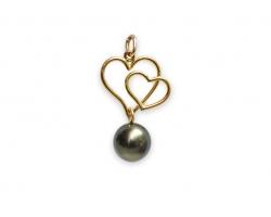 """""""Heretahi"""" Tahitian pearl pendant"""