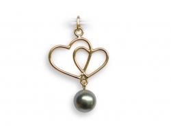 """Heiaitu"" Tahitian pearl pendant"