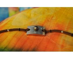 "Bracelet ""Pêcheur"" et perle de Tahiti"