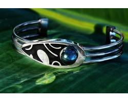 "Bracelet perle de Tahiti ""Vogue"""