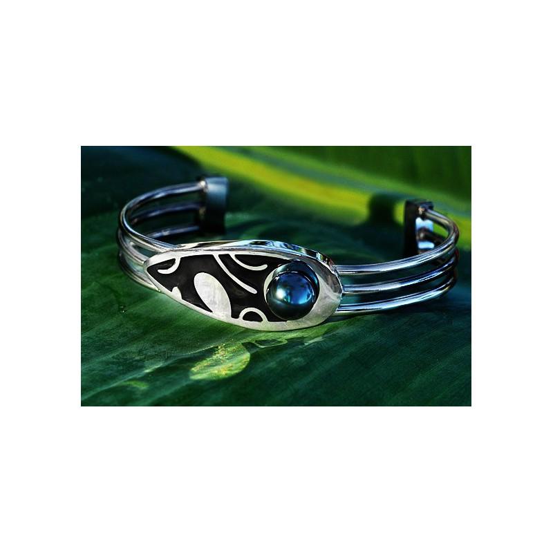 """Extrêmement Bracelet perle de Tahiti """"Vogue"""" XR29"""