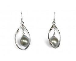 """Boucles perles de Tahiti """"Emere"""""""