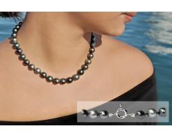 """Collier perles de Tahiti """"Ibis"""""""