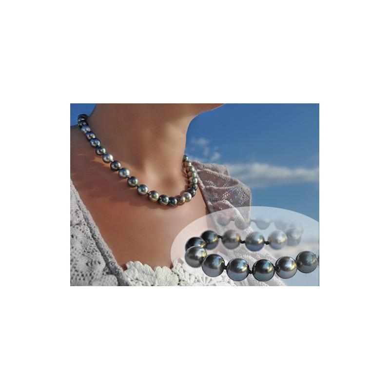 Collier femme perle de tahiti