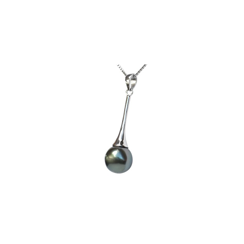black gold helmet products pendant tahitian yellow pearl ikaika in