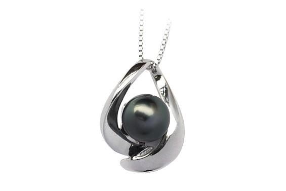 """""""Maeva"""" Tahitian pearl pendant"""