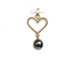 "Tahitian pearl pendant ""Herearii"""