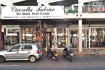 Main shop Cicorella Designer in Papeete